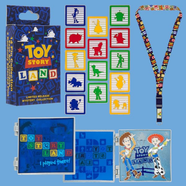More Toy Story Land Merchandise Ahead of the Opening June 30th mystery pins