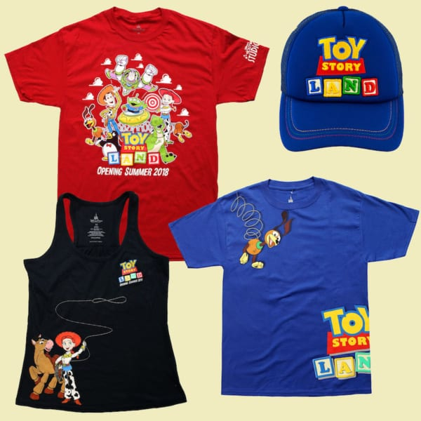 More Toy Story Land Merchandise Ahead of the Opening June 30th shirts