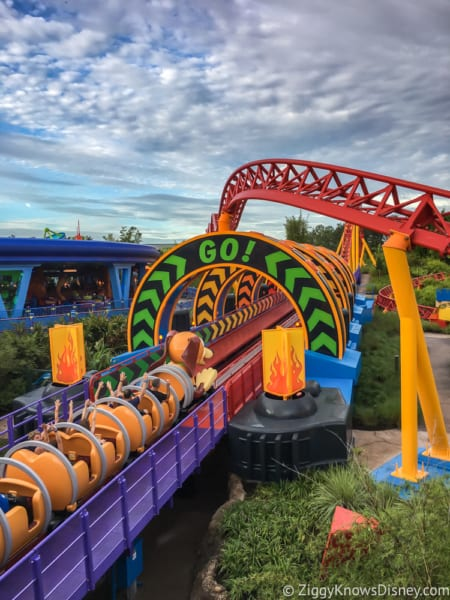 Toy Story Land Walkthrough Photo Tour
