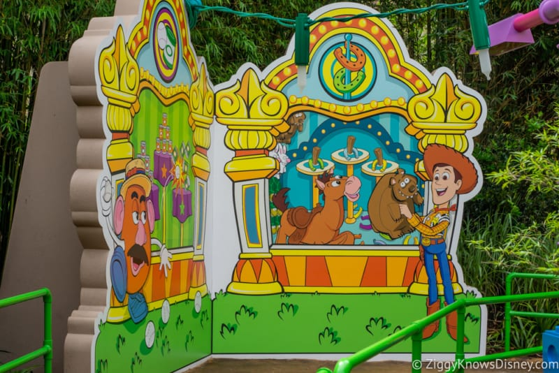photo tour Toy Story Land Walkthrough