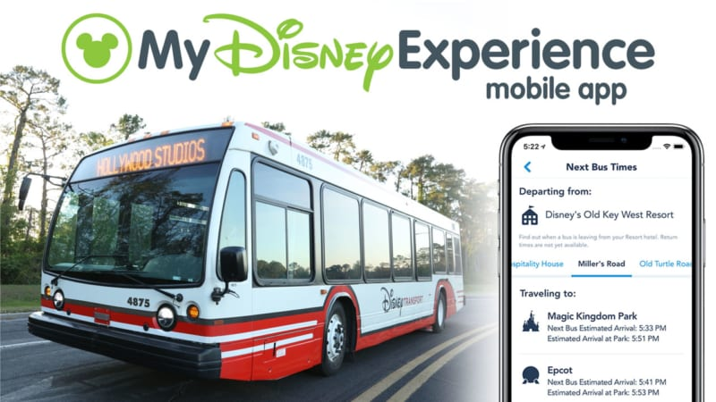 Walt Disney World Bus Arrival Times Now Available on My Disney Experience App