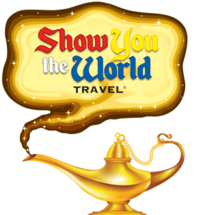 Show you the world travel logo