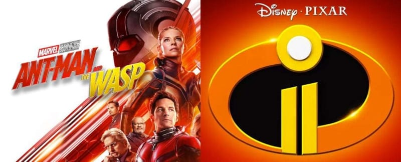 Ant-Man and the Wasp #1 at the Box Office and Incredibles 2 Breaking Records