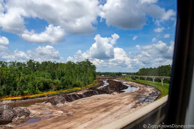 Epcot Hotel Project Construction Progress July 2018