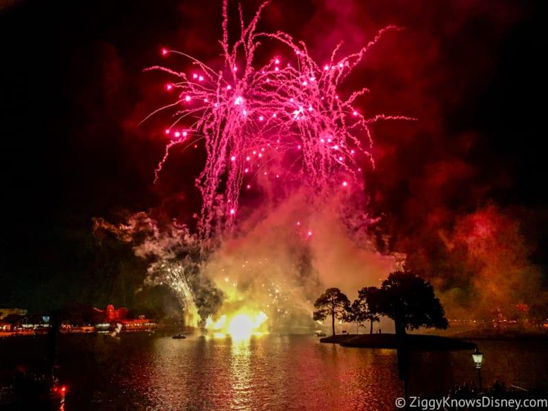 Construction Underway New Epcot Illuminations Fireworks Show