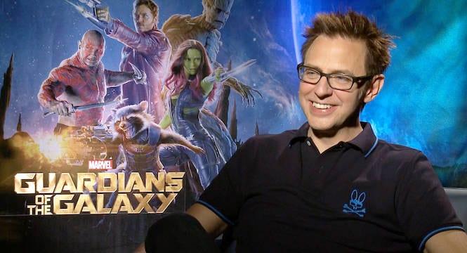James Gunn Fired Guardians of the Galaxy Vol 3