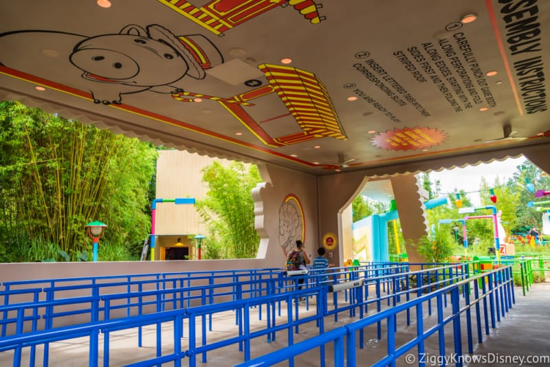New Toy Story Mania Queue