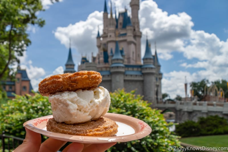 Review Ice Cream Churro Sandwich Sleepy Hollow