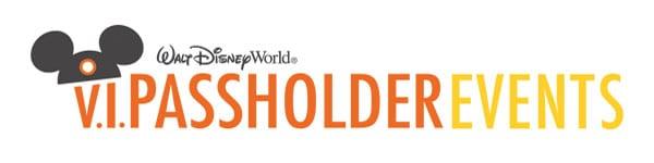 V.I.Passholder Events Coming to Walt Disney World