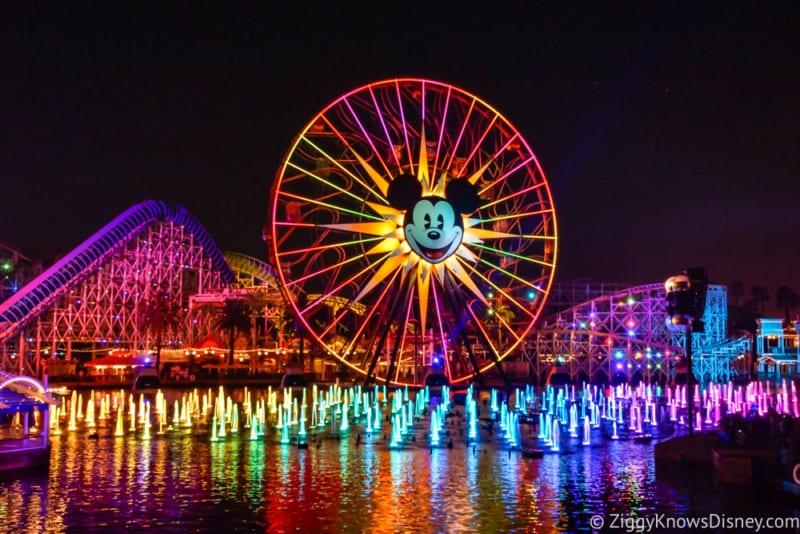 World of Color Halloween Show Disney California Adventure