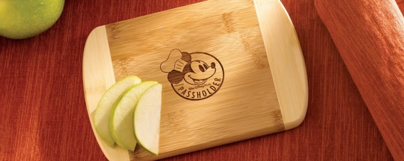 Annual Passholder Free Gifts for Epcot Food and Wine Festival cutting board