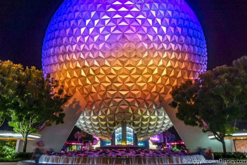 Spaceship Earth Attraction Remodel in the Works