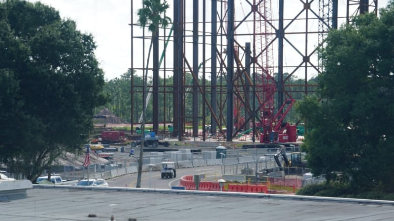 Guardians of the Galaxy Coaster Construction August 2018 size