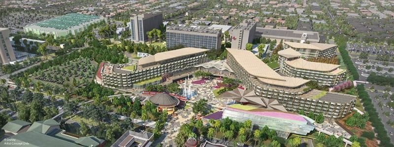 New Disneyland Luxury Hotel On Indefinite Hold