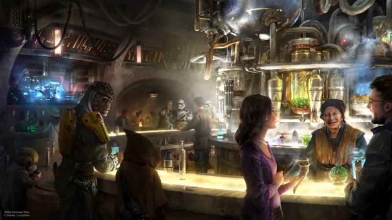 Oga's Cantina Coming to Star Wars Galaxy's Edge Details