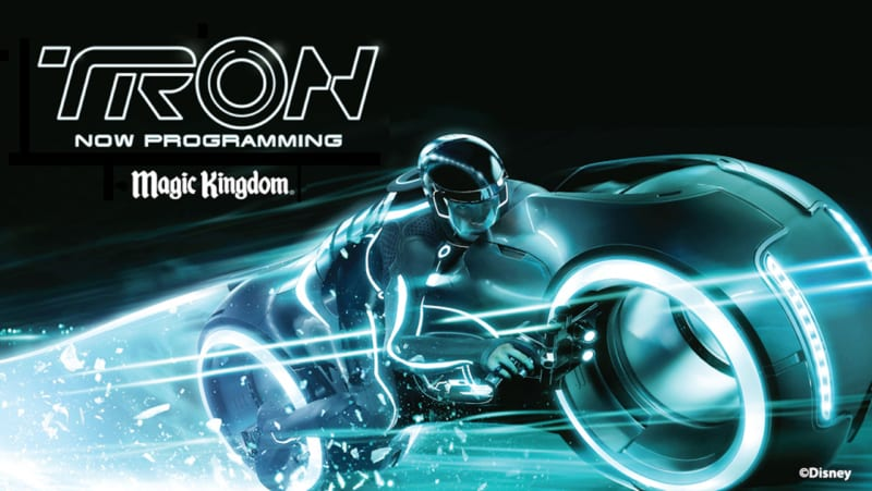 Magic Kingdom Attractions Closing Tron Coaster Construction