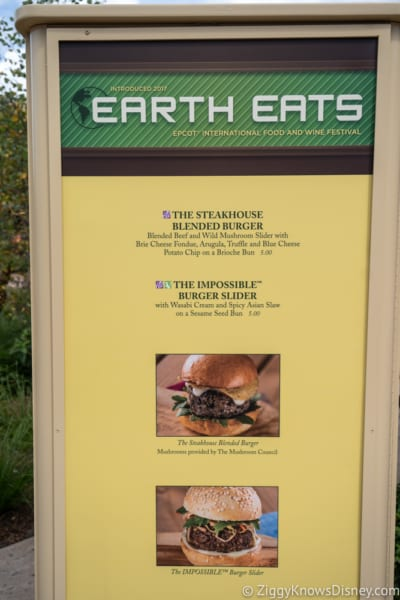 2018 Epcot Food and Wine Festival Menus Earth Eats