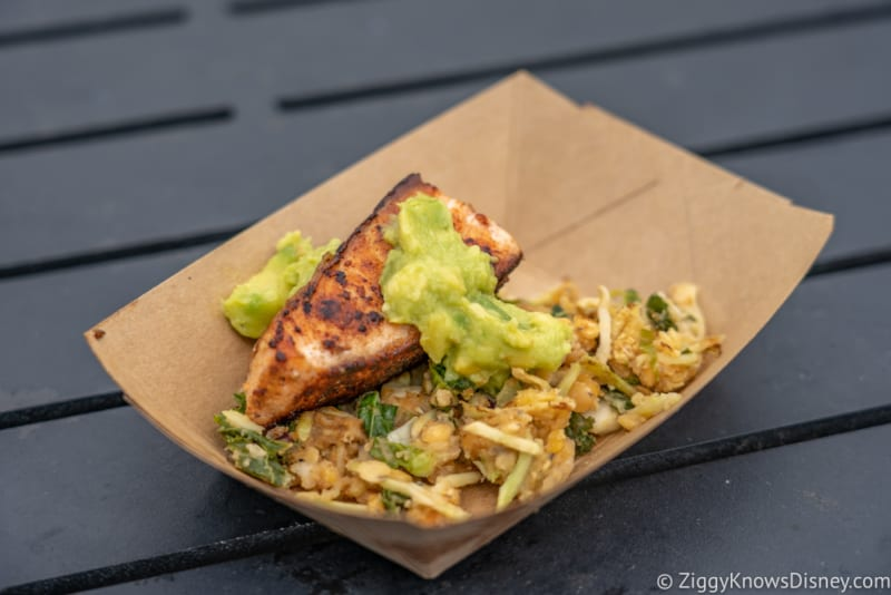 Active Eats Review 2018 Epcot Food and Wine Festival verlasso salmon