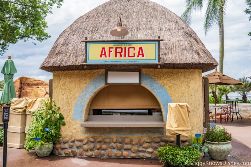 Africa Review 2018 Epcot Food and Wine Festival