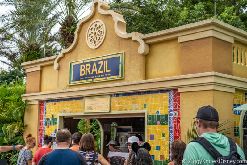 Brazil Review 2019 Epcot Food and Wine Festival booth