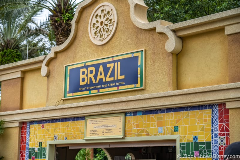 Brazil Review 2019 Epcot Food and Wine Festival sign