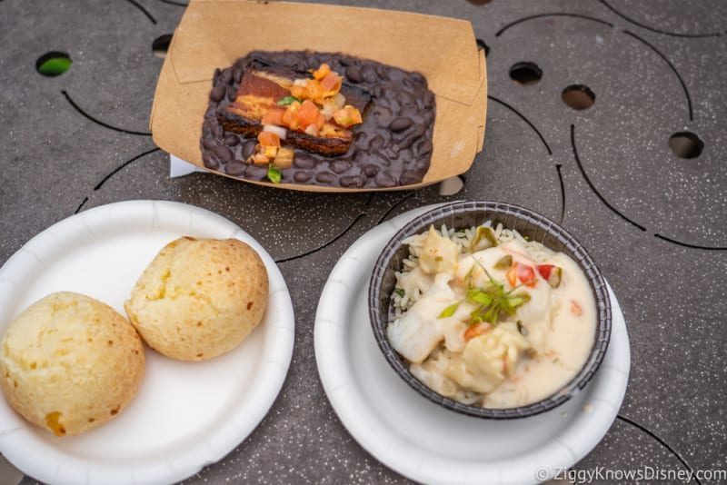 Brazil Review 2019 Epcot Food and Wine Festival food