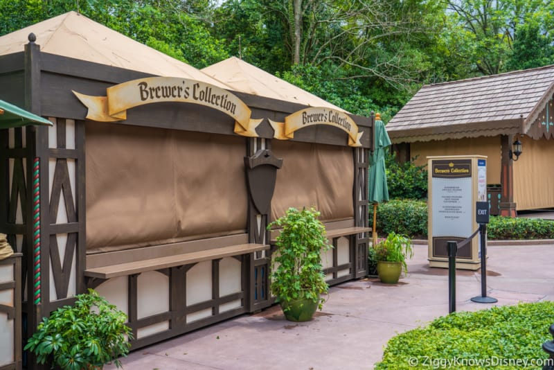Brewer's Collection Review 2018 Epcot Food and Wine Festival booth