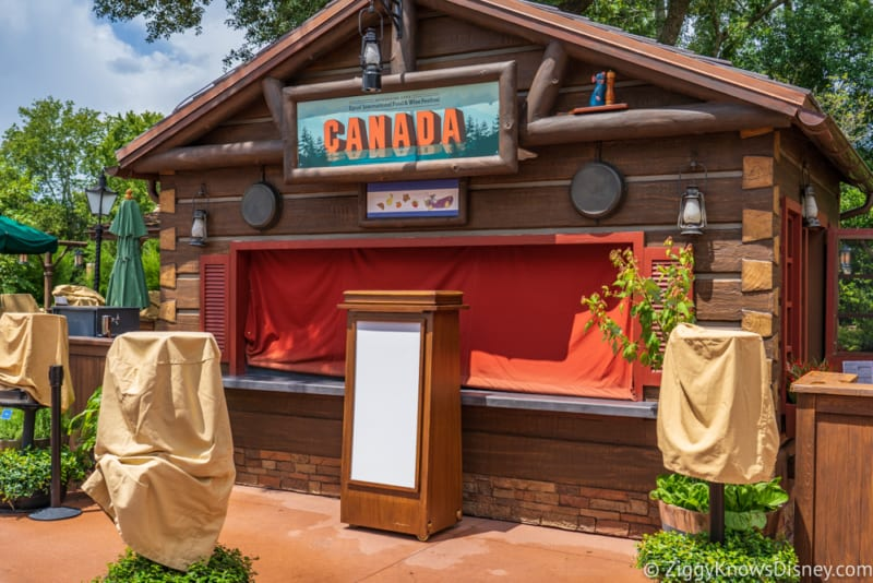 Canada Review 2018 Epcot Food and Wine Festival booth
