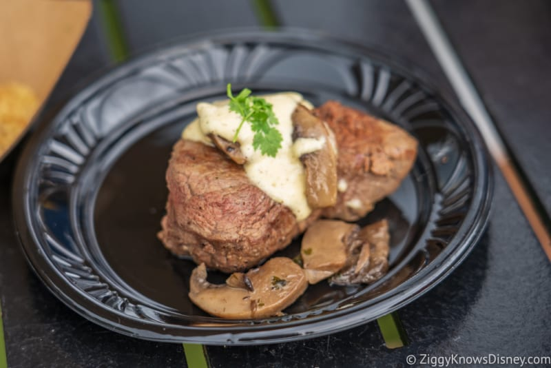 Canada Review 2018 Epcot Food and Wine Festival filet mignon