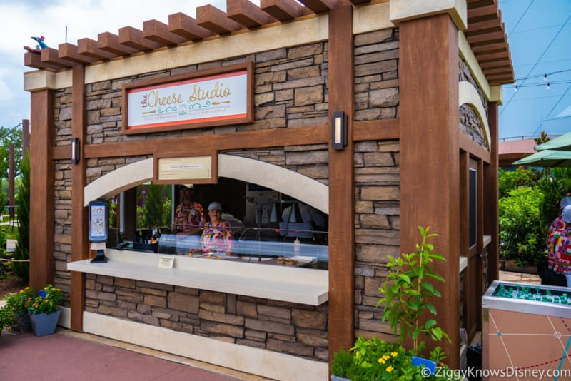 The Cheese Studio Review 2018 Epcot Food and Wine Festival booth