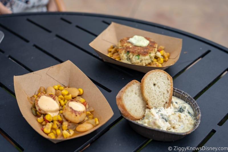 Coastal Eats Review 2018 Epcot Food and Wine Festival food