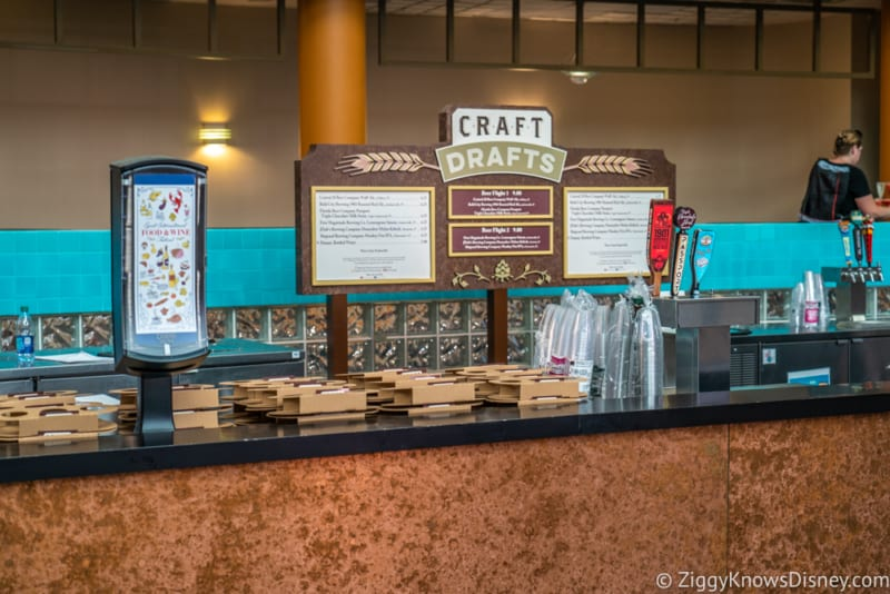 Craft Drafts Review 2018 Epcot Food and Wine Festival booth