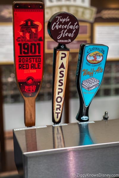 Craft Drafts Review 2018 Epcot Food and Wine Festival taps