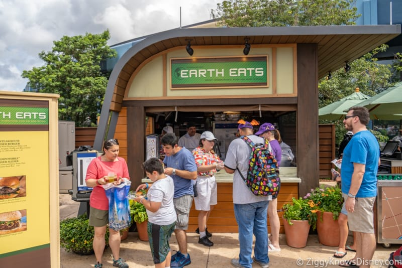 Earth Eats Review 2019 Epcot Food and Wine Festival booth