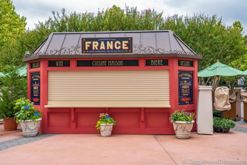 France Review 2018 Epcot Food and Wine Festival booth
