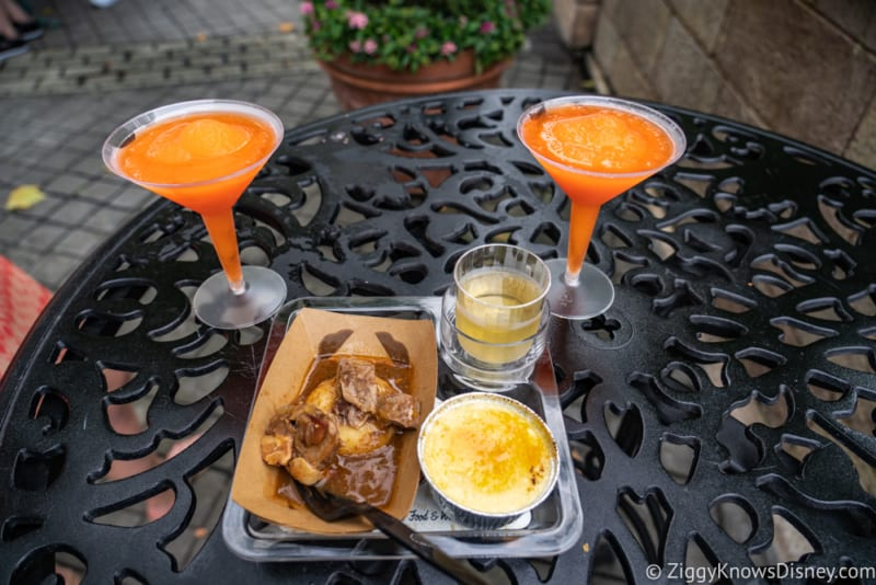 France Review 2018 Epcot Food and Wine Festival food