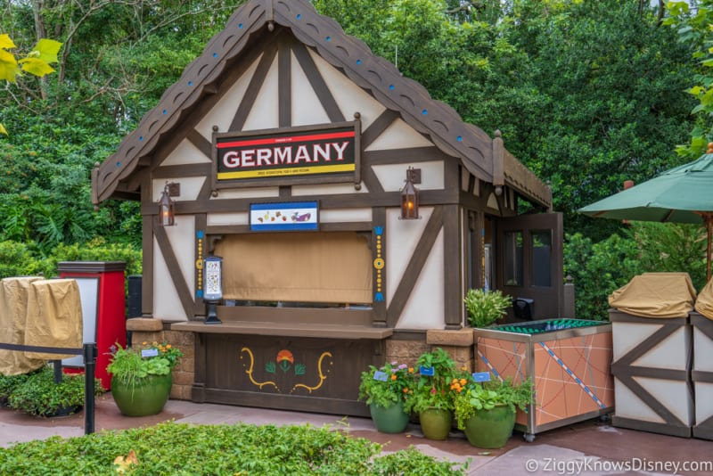 Germany Review 2018 Epcot Food and Wine Festival booth