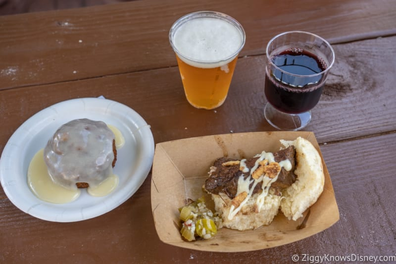 Hops and Barley Review 2018 Epcot Food and Wine Festival food