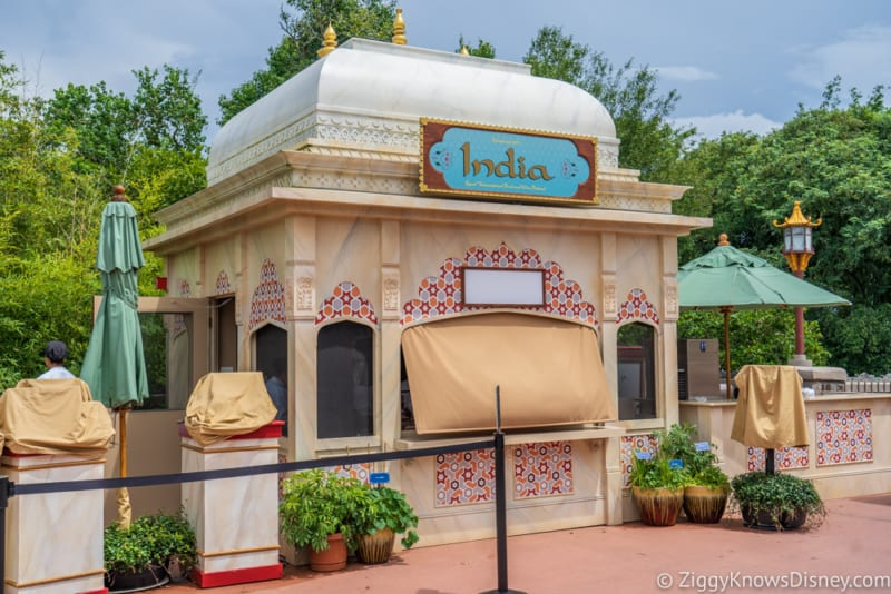 India Review 2018 Epcot Food and Wine Festival booth
