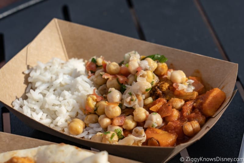 India Review 2018 Epcot Food and Wine Festival madras red curry
