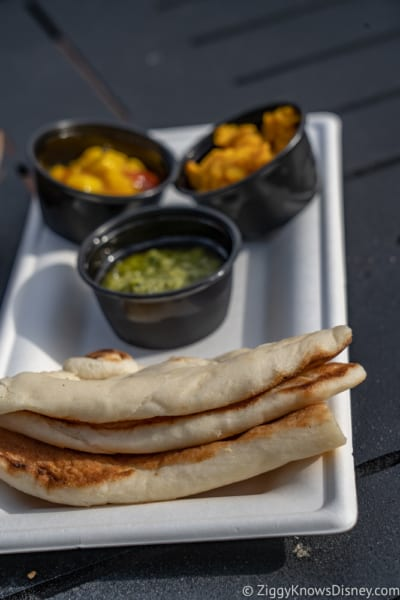India Review 2018 Epcot Food and Wine Festival Indian bread