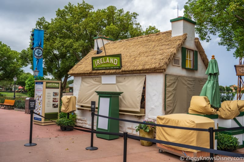Ireland Review 2018 Epcot Food and Wine Festival booth