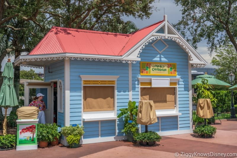 Islands of the Caribbean Review 2018 Epcot Food and Wine Festival booth