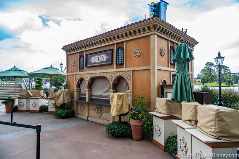 Italy Review 2018 Epcot Food and Wine Festival booth