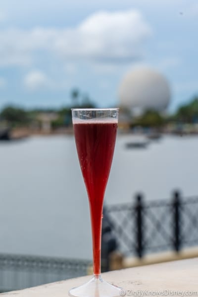 Italy Review 2018 Epcot Food and Wine Festival montegrande corbinello Spumante dolce