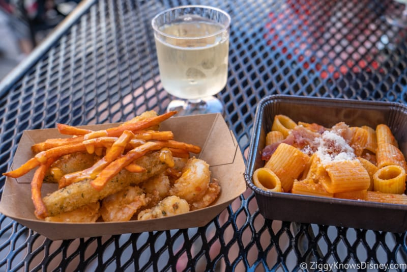 Italy Review 2018 Epcot Food and Wine Festival food