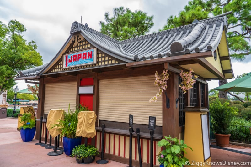 Japan Review 2018 Epcot Food and Wine Festival booth