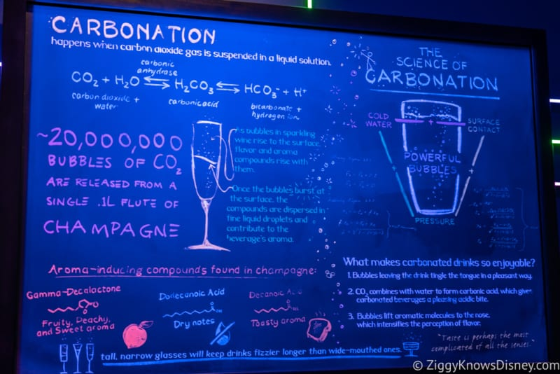 Light Lab Review 2018 Epcot Food and Wine Festival neon board