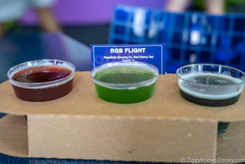 Light Lab Review 2018 Epcot Food and Wine Festival RGB Flight