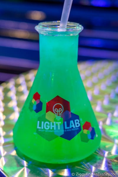 Light Lab Review 2018 Epcot Food and Wine Festival phosphorescent phreeze